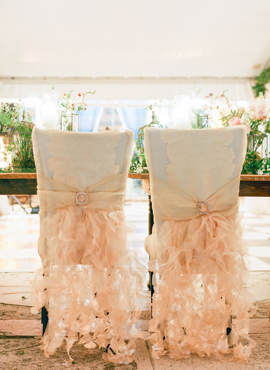 Decor for chairs wedding Paris Spring Couture Week Inspiration for the Bride  Vaulting Till