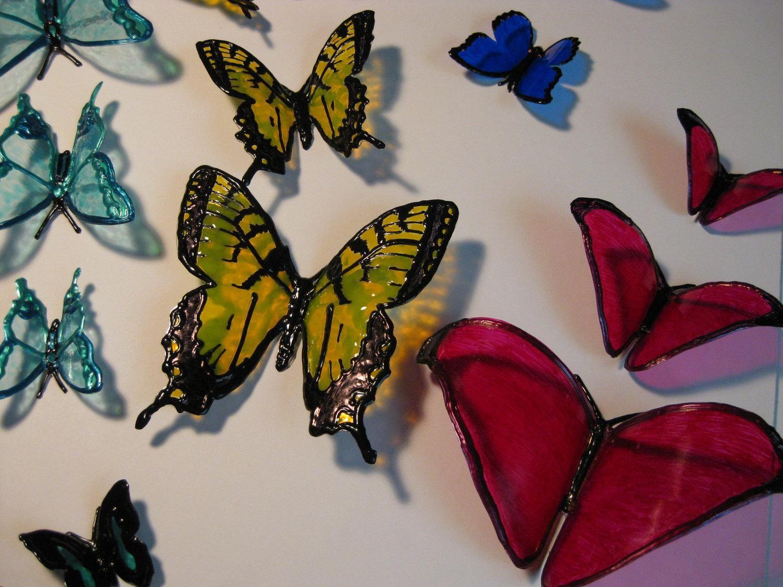 plastic bottle butterflies must make for mom