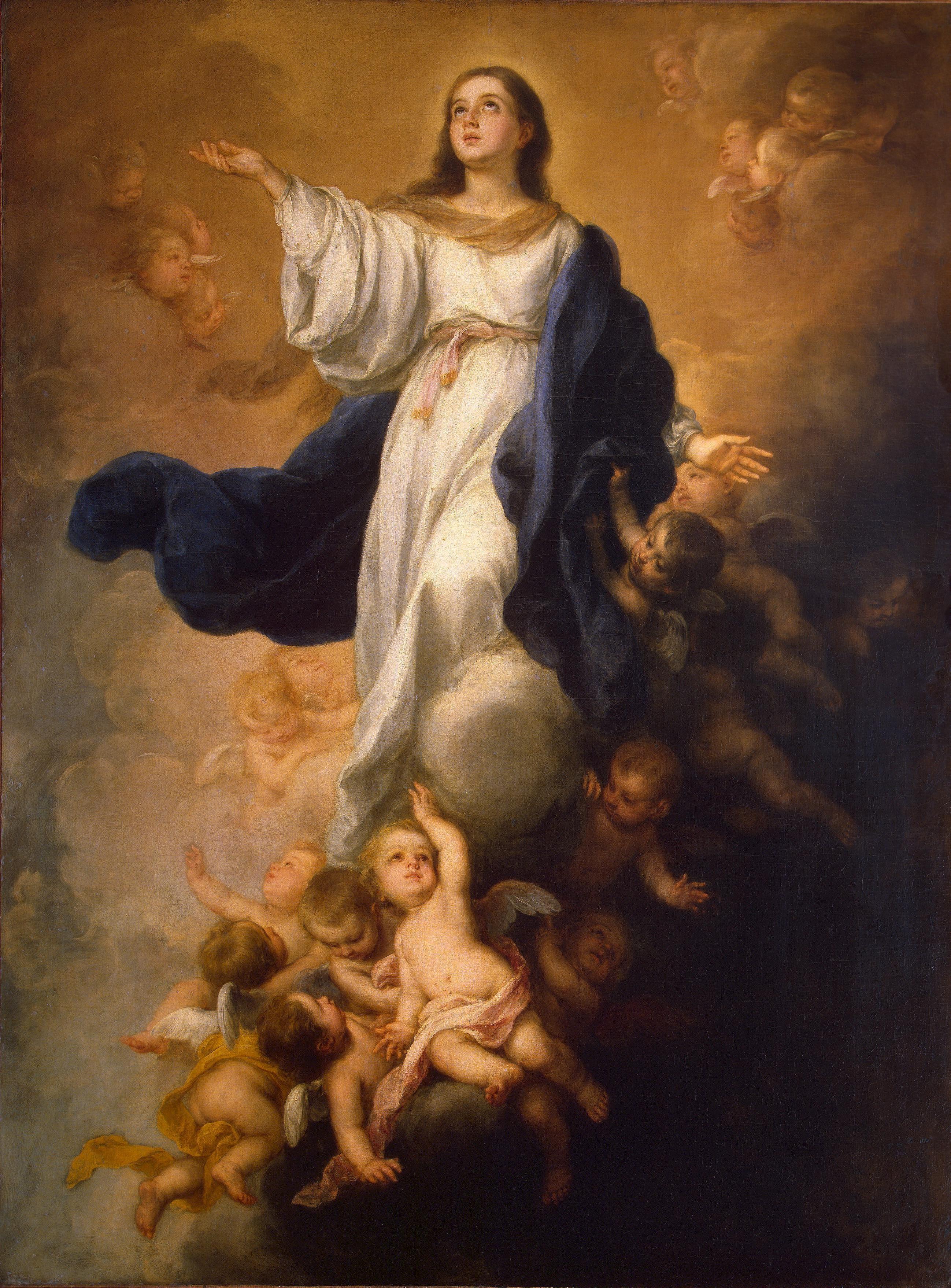 Bartolom� Esteban Murillo, Asunci�n de la Virgen. (с изображениями)    Картины, Христианские картины, Художники