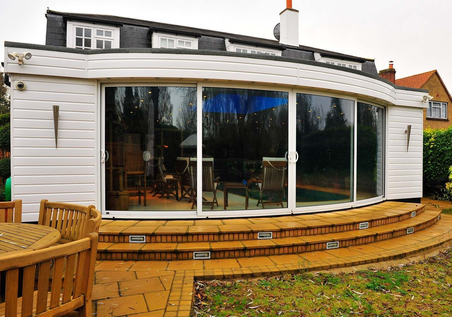 Hardwood Patio Doors Guarantees Safety And Security Windows And