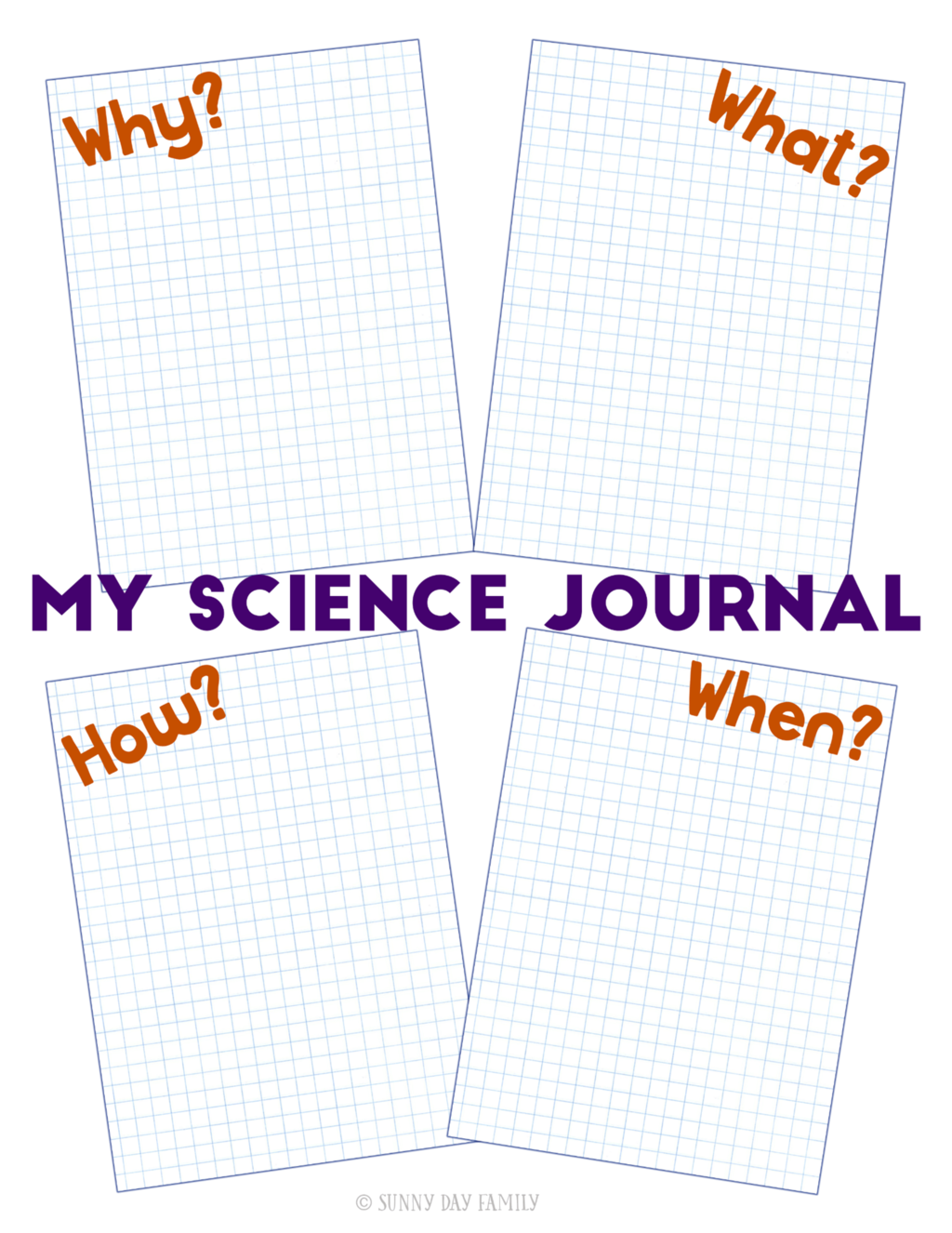 Free Printable Science Journal For Kids