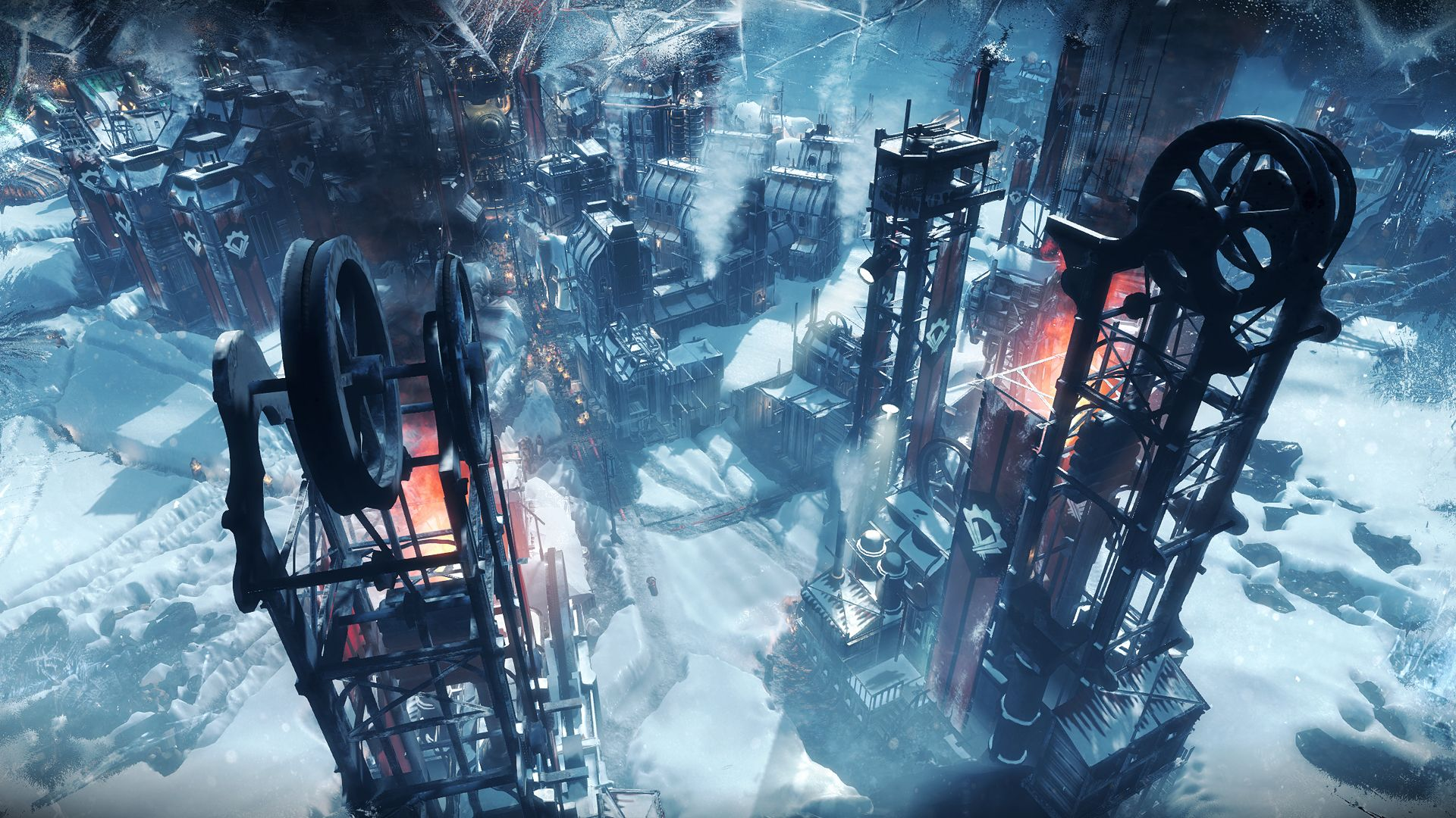 Frostpunk A New Game By The Creators Of This War Of Mine Frostpunk Is A New Game Developed And To Be Published Survival Games Playstation Post Apocalypse