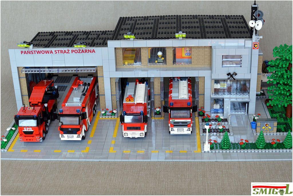 Lego-City-Pompier Pompier Fire Rescue Emergency services man figurine