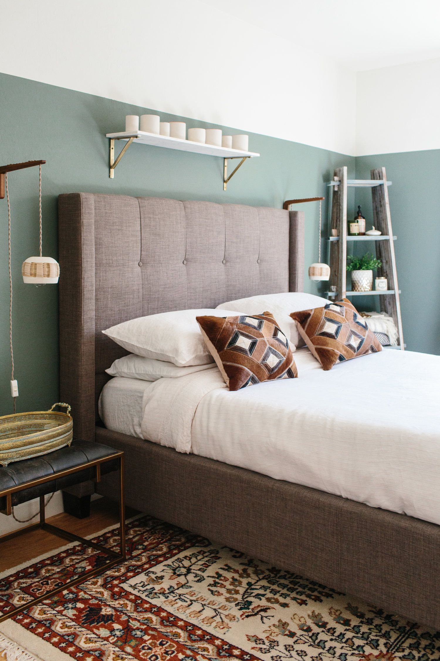 Linen Sheets Are A Game Changer Grey Bed Frame Sage Green Bedroom Grey Bedding