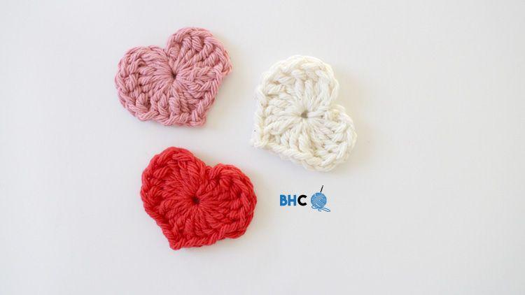 Magic Crochet Hearts   Knit or Crochet Today?   Pinterest   Apliques