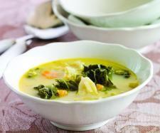 Receita Sopa de couve com leite de soja por Equipa Bimby - Categoria da receita Sopas