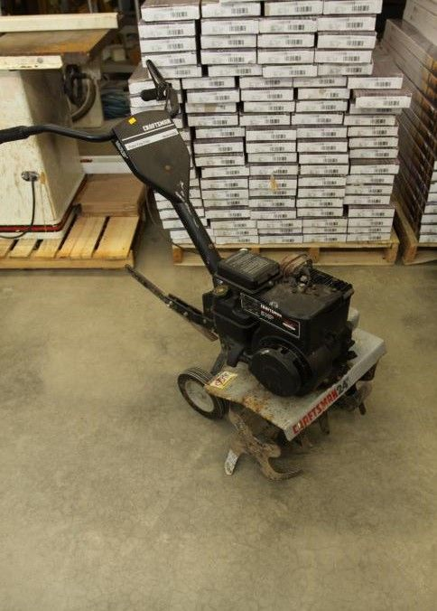 Item 16 Craftsman Front Tine Tiller Model 917 298351 Ser 033192s 020221 With A Briggs Stratton 5hp Motor Pickup Only