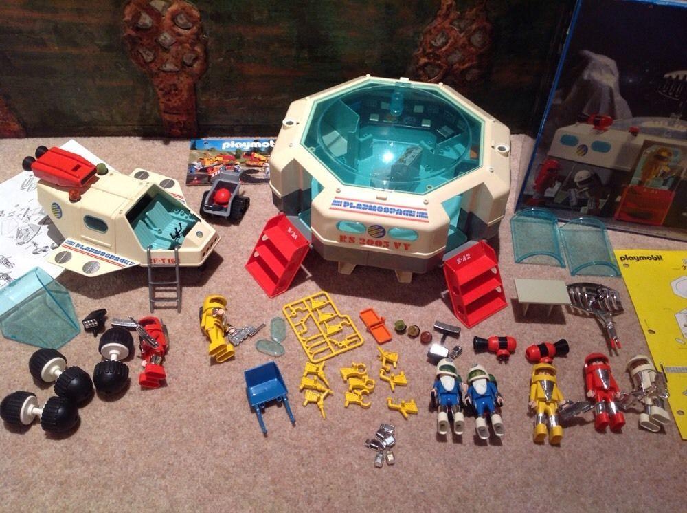 3536 Playmobil Playmospace Détails Sur Spatiale Station 100Complet 4A5j3RL
