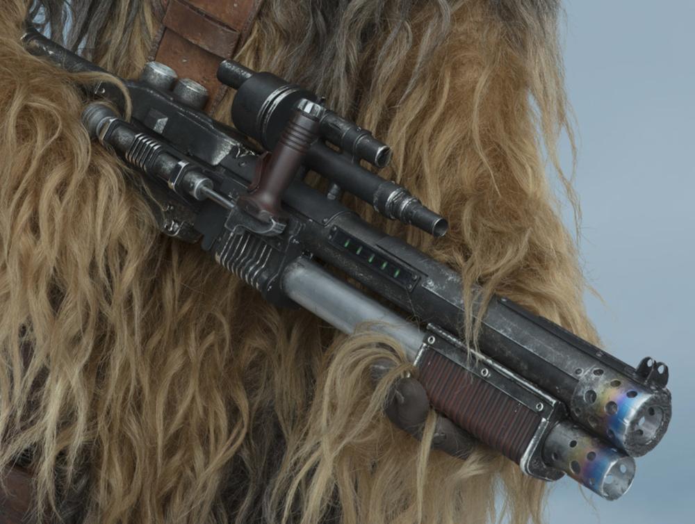 Biker Scout Gun//Blaster Repro//Replacement Weapon Star Wars Figures