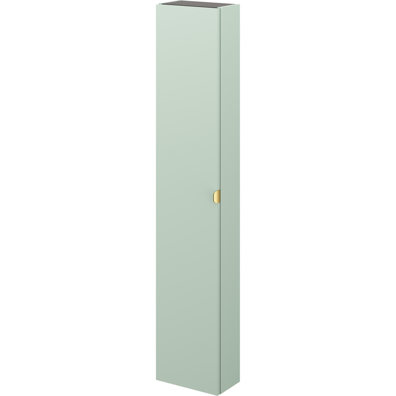 Colonne Neo Leroy Merlin colonne l.30 x h.154 x p.17 cm, vert sauge 5, neo line
