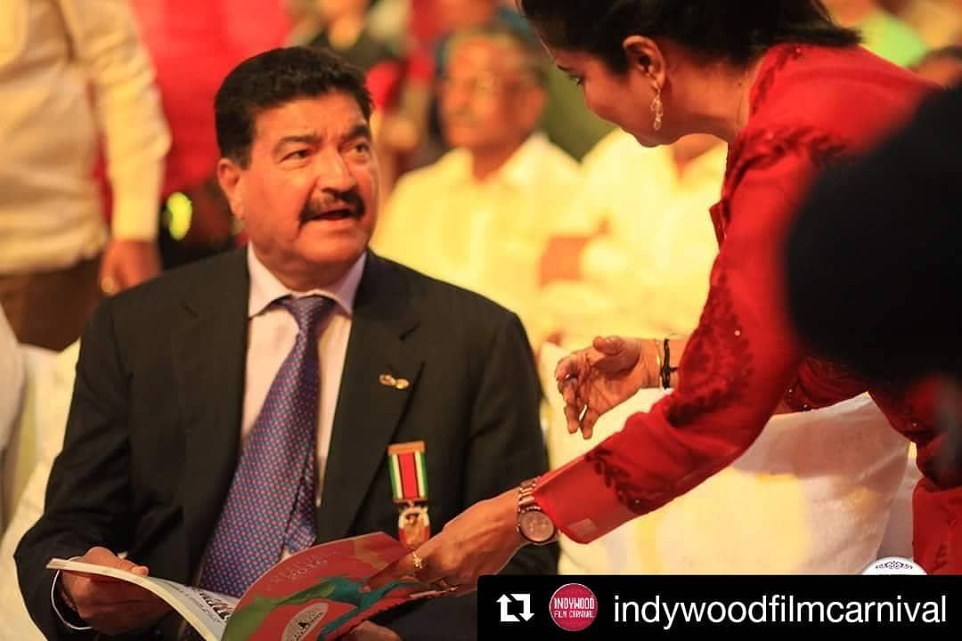 Indywoodstories B R Shetty Is The Founder And Non Executive