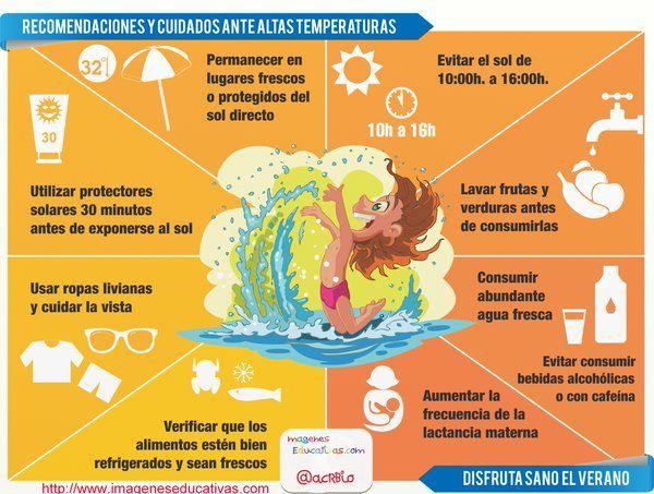 #calor #canícula Recomendaciones de la Guardia Civil