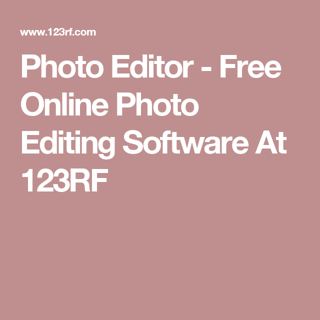 free online editing software