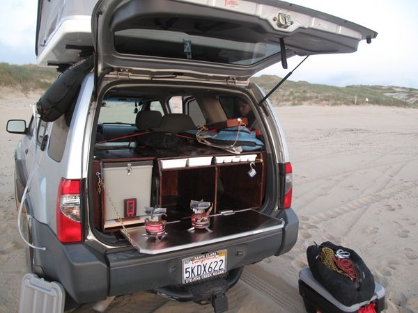 Suv Camping Suv Cargo Camping Storage Drawers Camp Pinterest