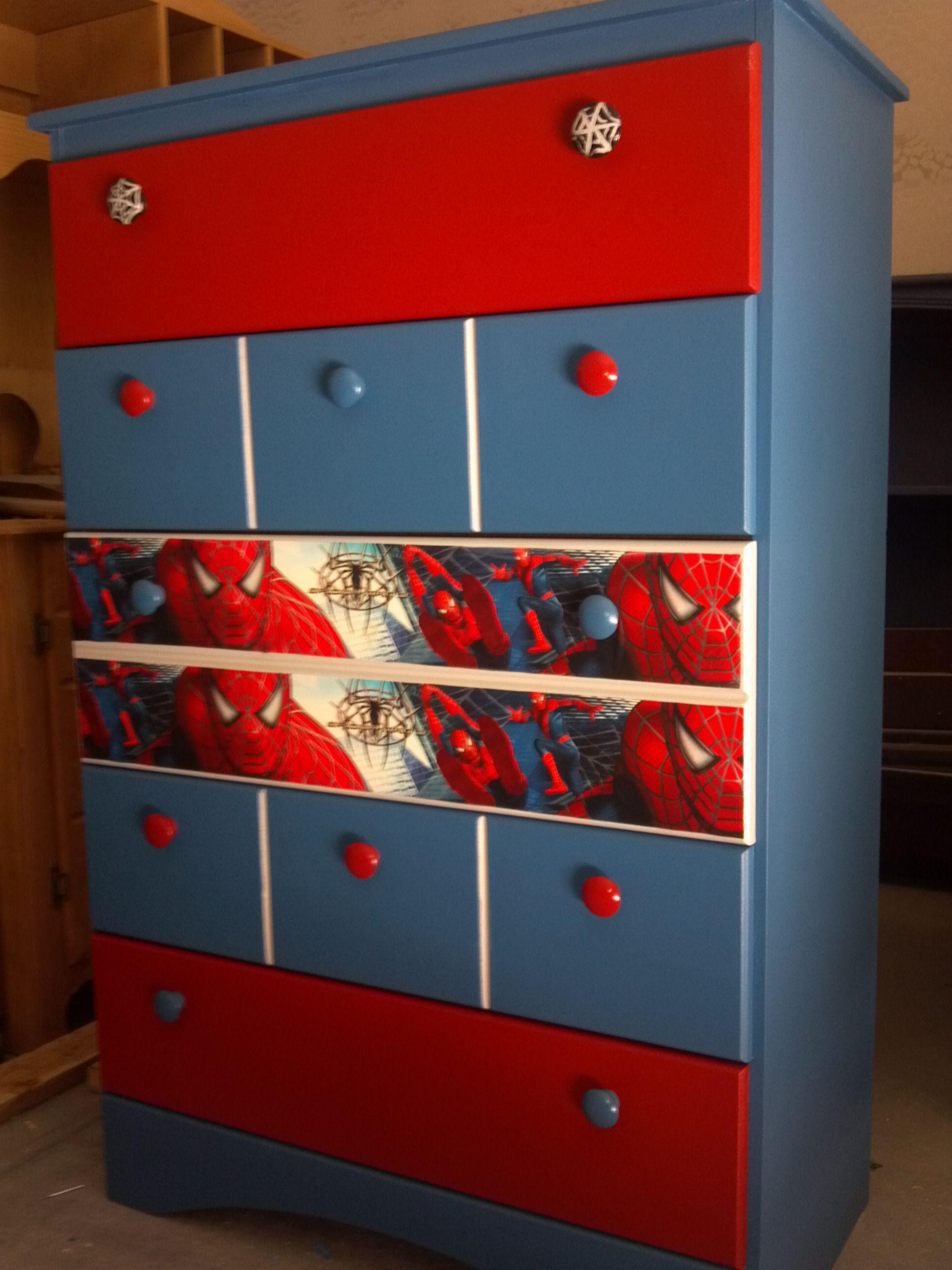 Spiderman dressers kids dressers kids bedroom kids - Dresser for small room ...
