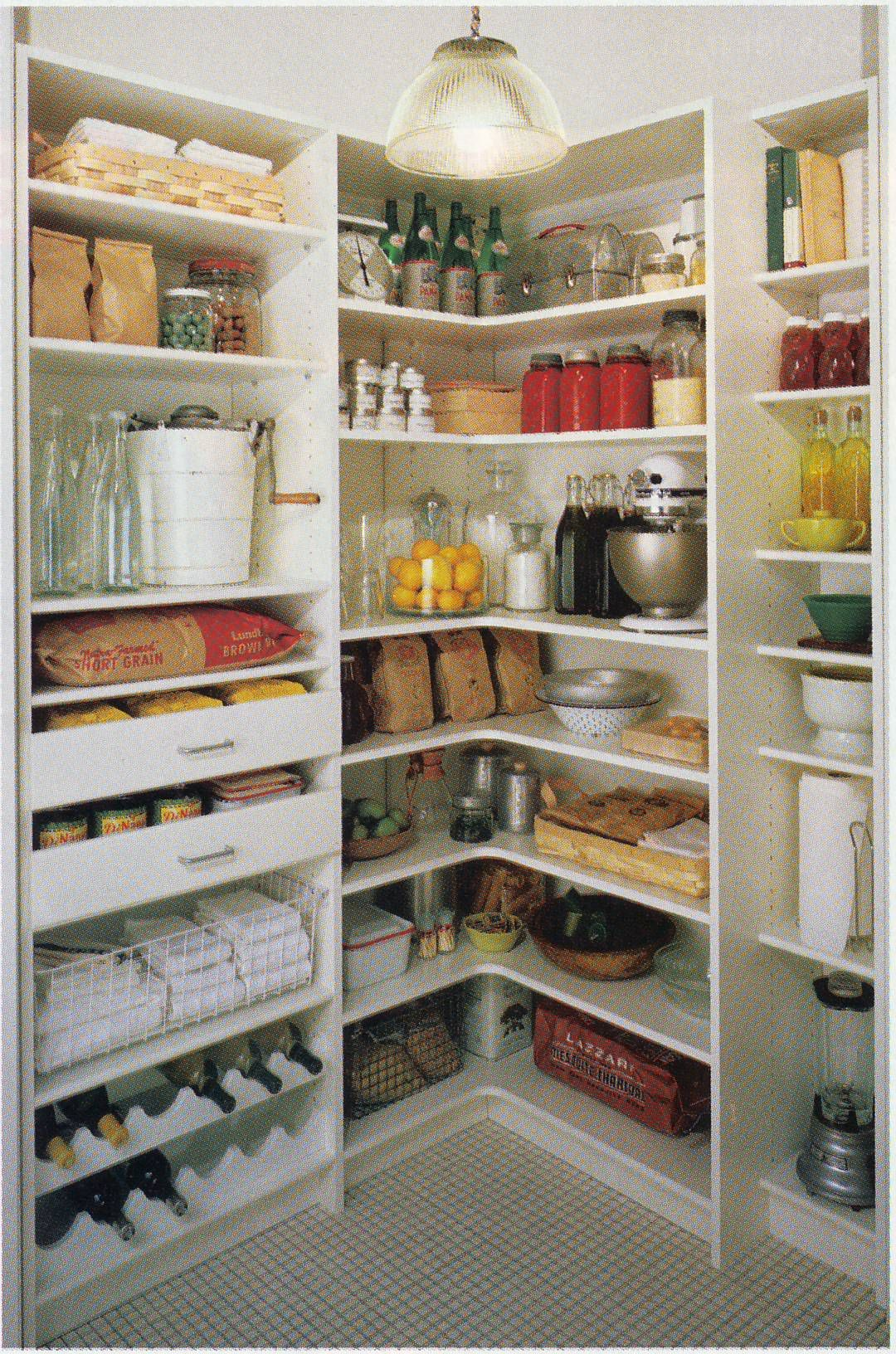 Pantry inspiration  organization for life  home  Kitchen larder Pantry organization Home