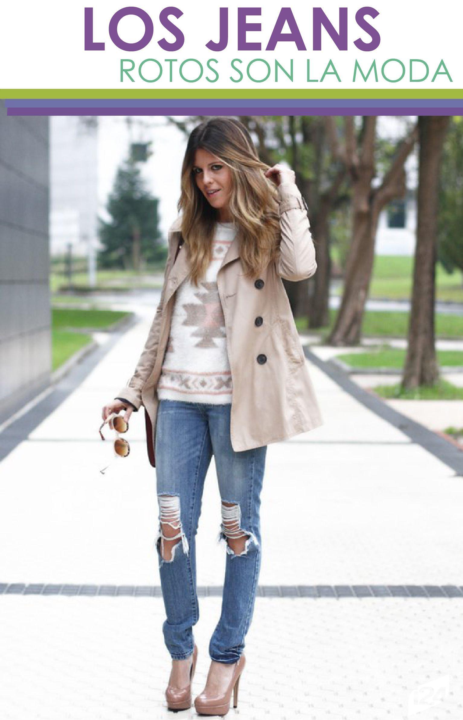 Photo of Se ami i jeans strappati, ecco come puoi Wearli: i24Donna – Benvenuti nel Blog