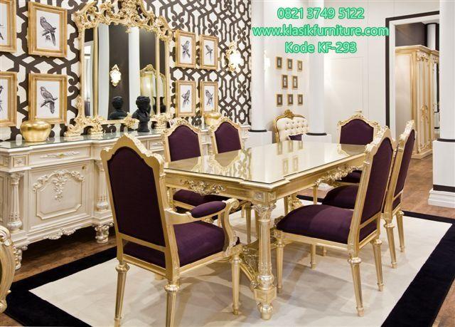 Desain Dan Penjualan Set Meja Makan 6 Kursi Pradaleaf By