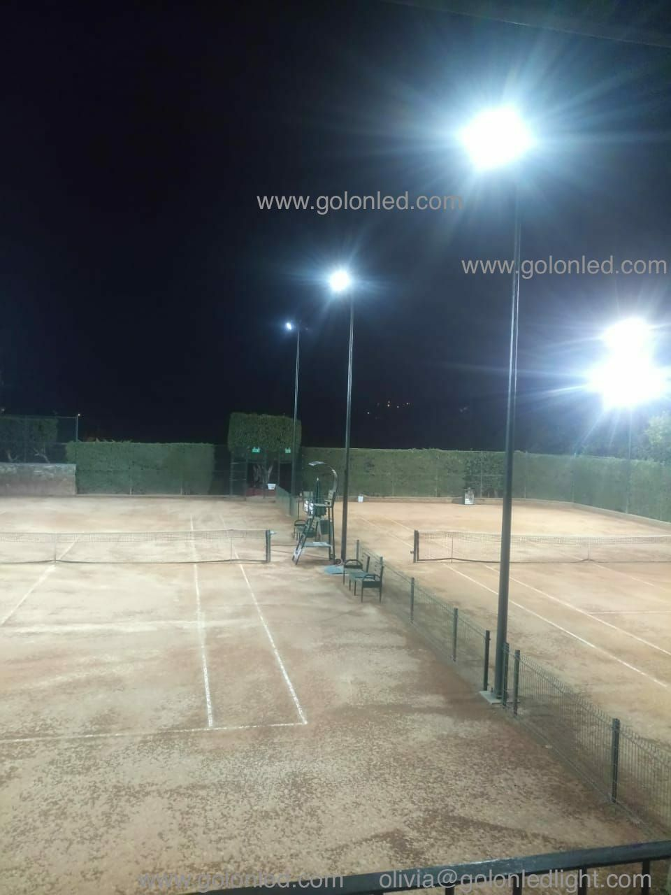 Led Flood Light For Outdoor Tennis Court High Quality 5 Years Warranty 100 277vac 25 60 90 Meanwell Driver Lumileds Led Flood Lights Flood Lights Led Flood