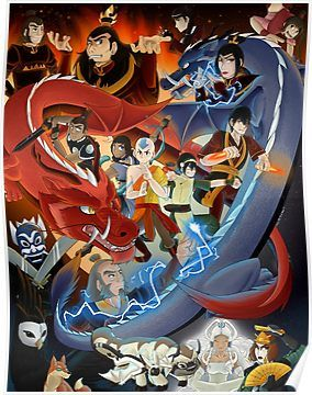 Avatar The Last Airbender Poster By Kumoridragon The Last Airbender Avatar The Last Airbender Cartoon Wallpaper