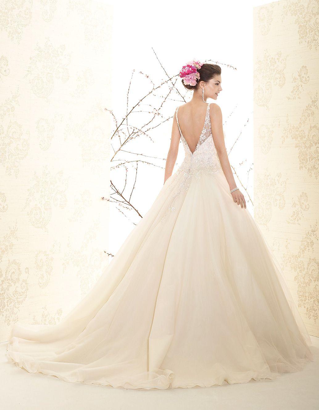 Perle 2015 > P7534 | Delsa Abiti da Sposa | Creazioni dal 1969