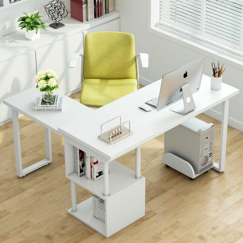 Lambdin Reversible L Shape Gaming Desk Modern L Shaped Desk Corner Computer Desk Cheap Office Furniture