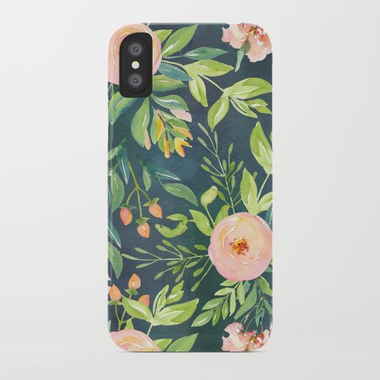 Painted King Proteas on Cream iPhone 11 case