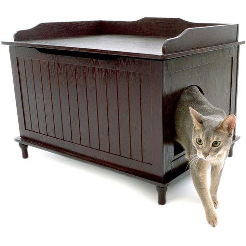 Designer Pet Products Litter Box Enclosure & Reviews   Wayfair