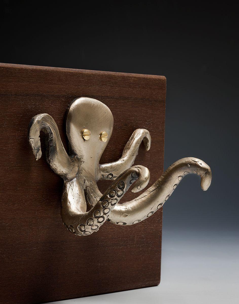Helping Hands Octopus Coastal Decor Octopus Art