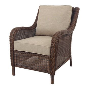 Sonoma Outdoors Presidio Wicker Chair Front Porch