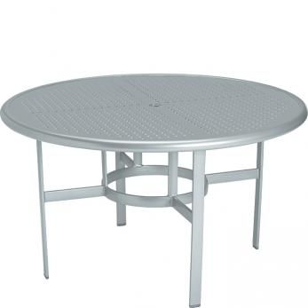 Boulevard 48 Round Dining Umbrella Table Tropitone BeachHouse Magnificent Outdoor Commercial Furniture Exterior