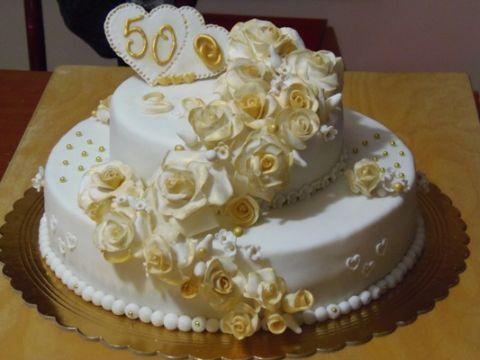 Torta pdz fiori cerca con google dolci rotondi per 50 for Decorazione torte per 50 anni di matrimonio