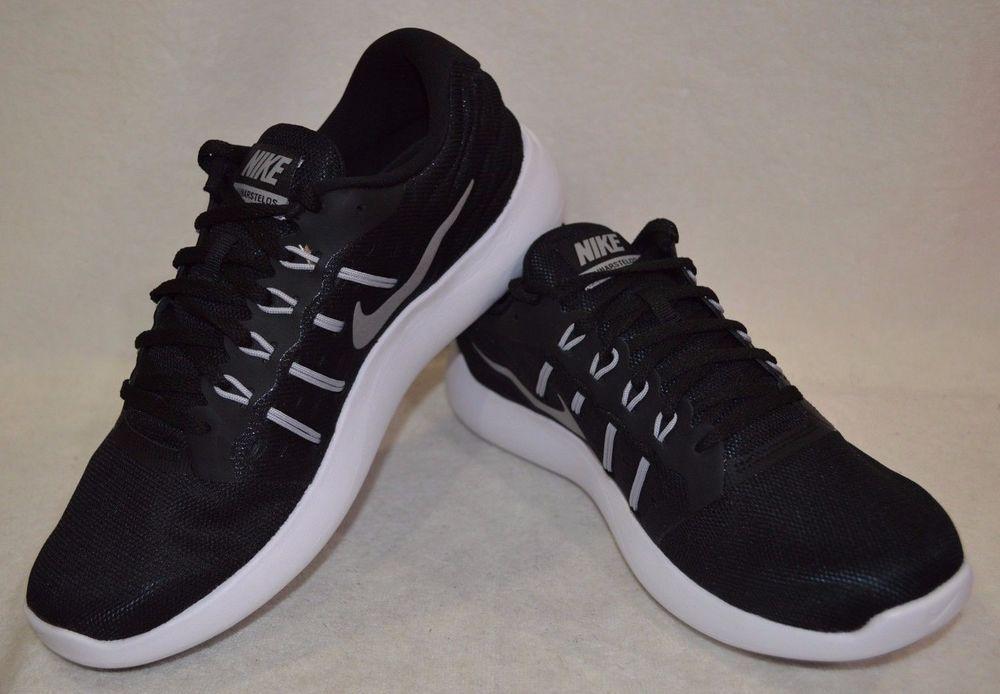 Nike Lunarstelos Black Silver White Women s Running Shoes - Assorted ... 54271bd9f
