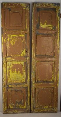 PDR - Wall Paneling Precedent - Non Rectangular Raised Panel Mexican Doors - Architectural Salvage & PDR - Wall Paneling Precedent - Non Rectangular Raised Panel Mexican ...