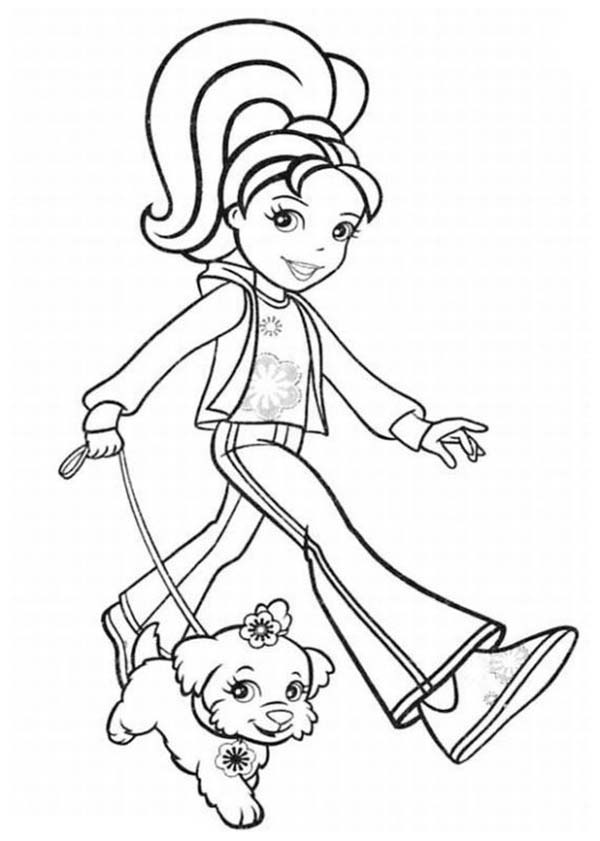 Polly Pocket Take Her Dog Outside Coloring Pages Bulk Color Coloring Pages Zoo Coloring Pages Polly Pocket