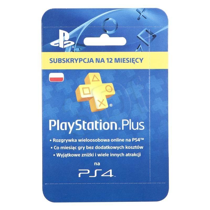 Karta Ps4 Karta Playstation Plus 365 Dni Pl Easy Ecommerce Pinterest