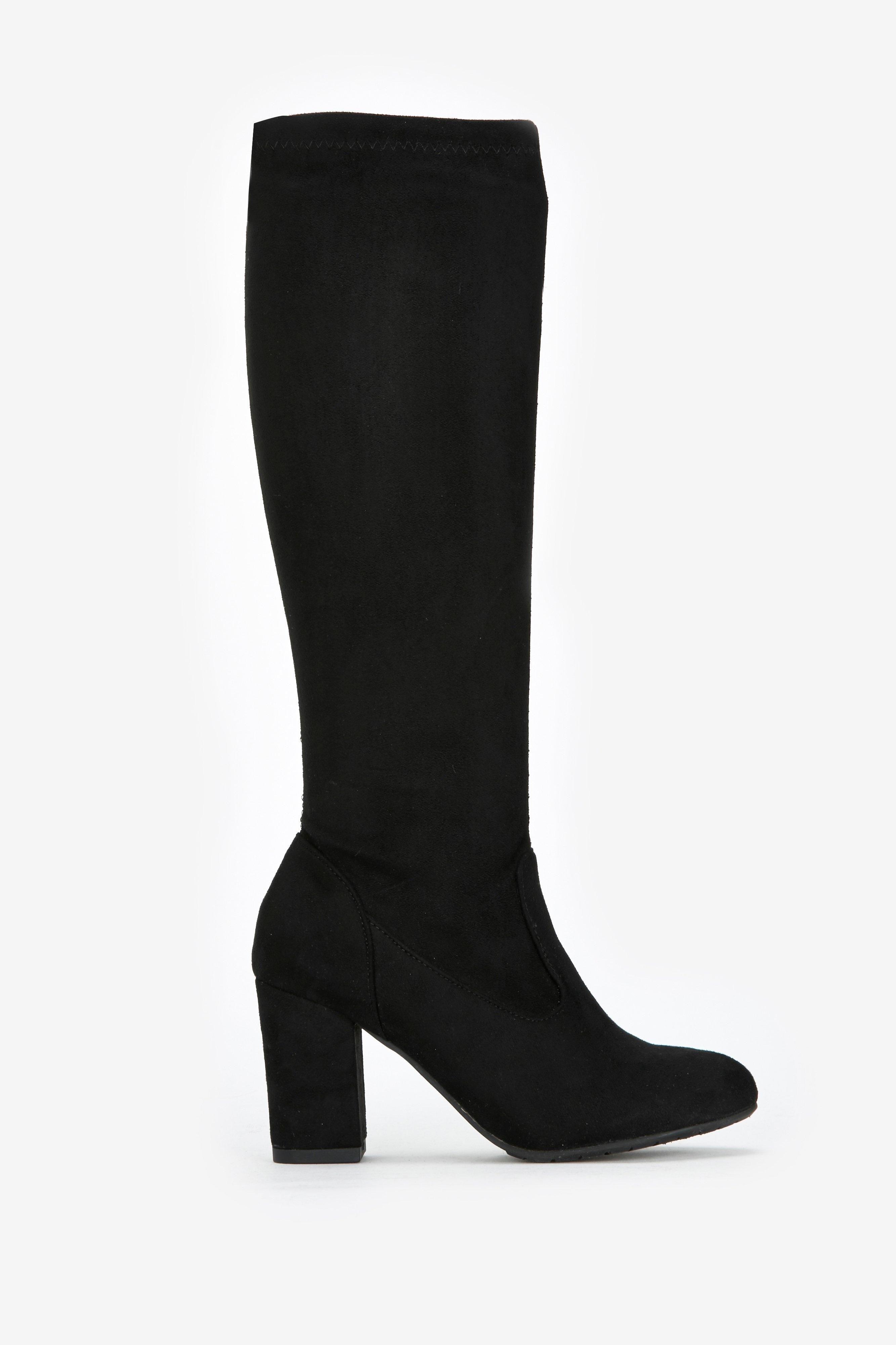 sale online large discount los angeles Women's Black Sock Fit High Leg Boot | heel boots in 2019 ...