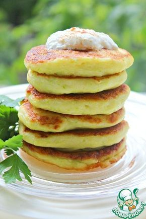 Кабачково-творожные оладьи (с изображениями) | Рецепты из ...