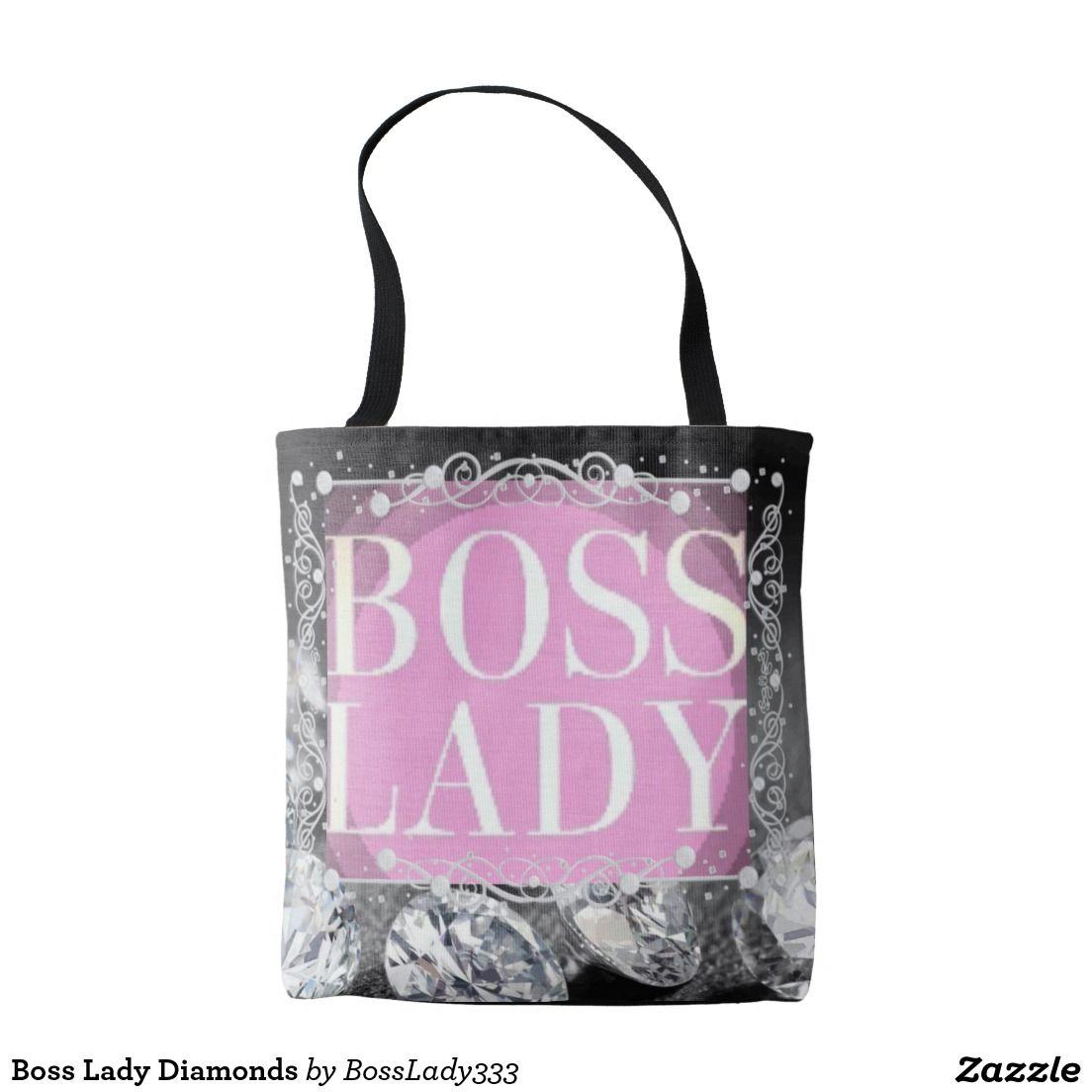 Boss Lady Diamonds Tote Bag