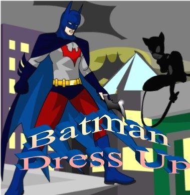 dress up batman with