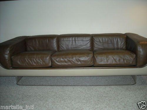 RARE Warren Platner Mid Century Floating Couch Sofa Space Age Design Modern | eBay