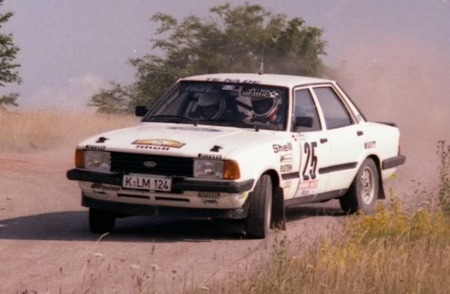 Ford Taunus Xr6 Rally Car Rallying Ford