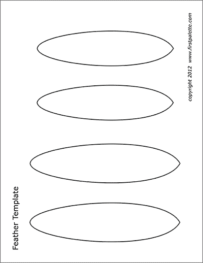 Native American Headband Templates Free Printable Templates Coloring Pages Firstpalette Com Feather Template Templates Printable Free Feather Printable