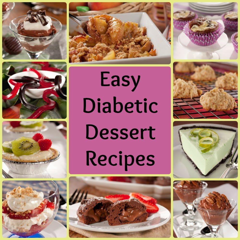 32 Easy Diabetic Dessert Recipes Diabetic Cookies
