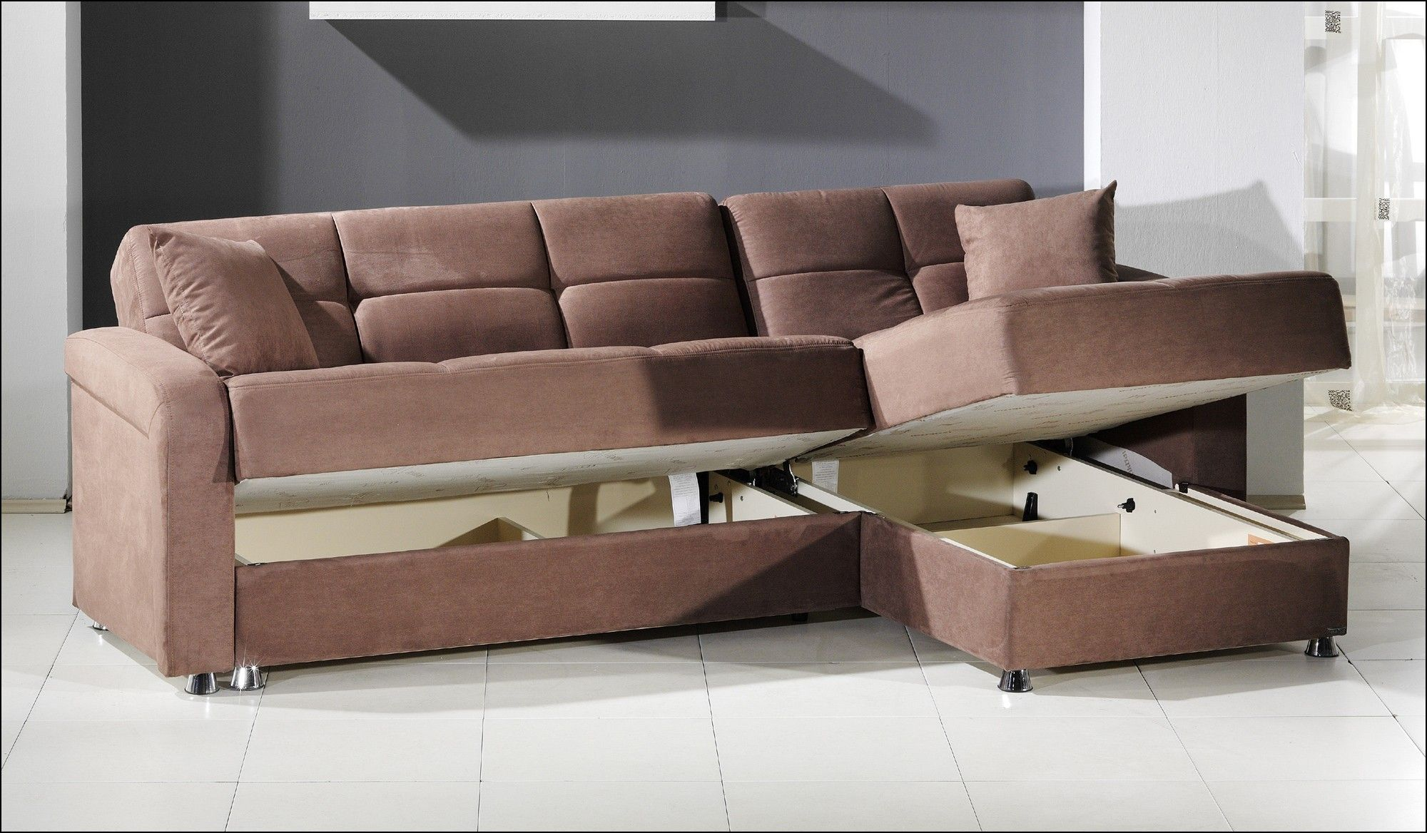 Small Sectional Sofa With Storage