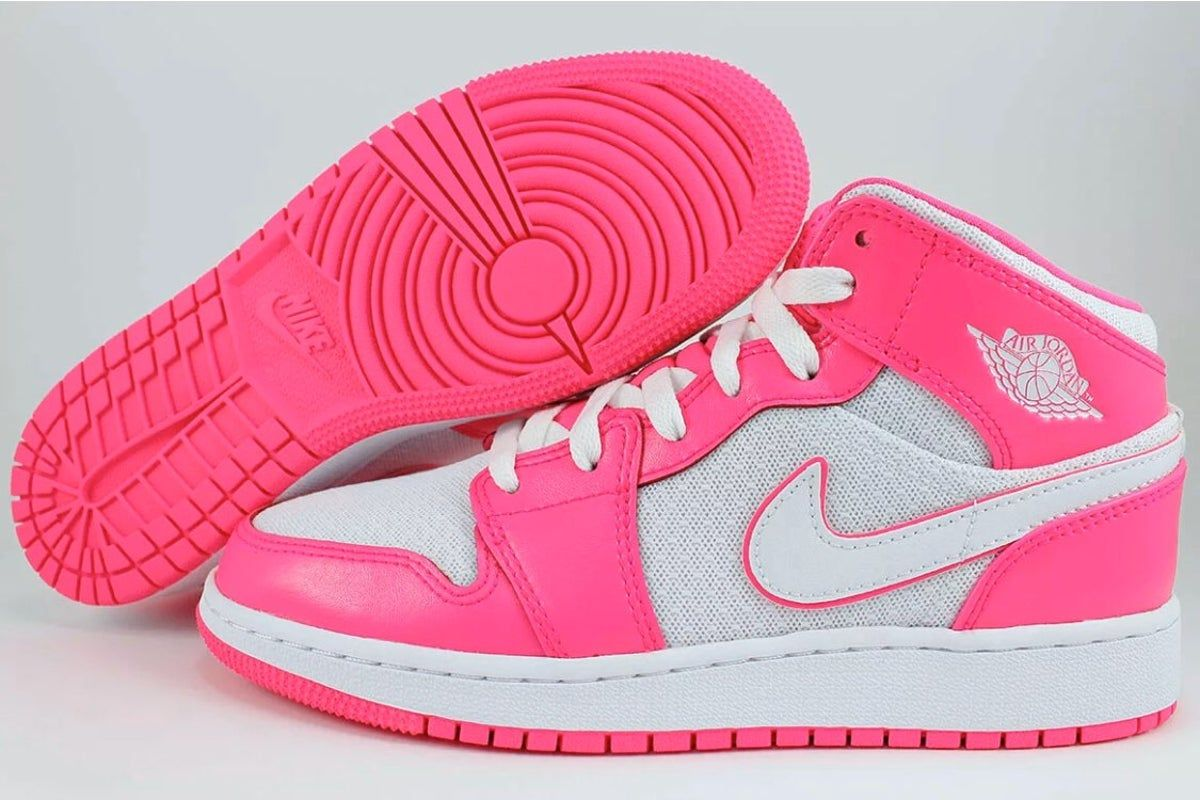 Nike Air Jordan 1 Hyper Pink/White Hot R #airjordan1outfitwomen