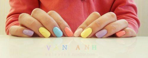 #pastel nails