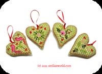 Download Stickdatei: wonder HEARTS (in-the-hoop) - Smila´s World - {Shop}