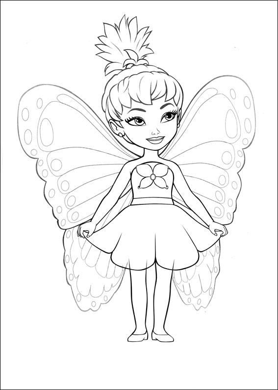barbie coloring page to print - Barbie Coloring Pages Print