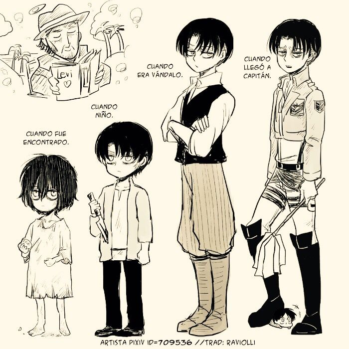 Levi's growth (o⌒.⌒o) | SNK | Attack on titan levi